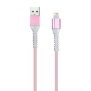 Дата-кабель Smartbuy 8pin кабель в TPE оплетке Flow3D, 1м, мет.након.,