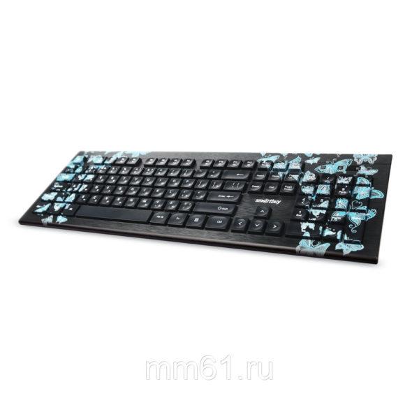 """Клавиатура SmartBuy 223 """"Бабочки"""""""